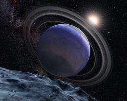 Artist's Concept of Exoplanet HR 8799b