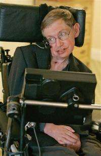 Stephen Hawking expected to recover from infection (AP)
