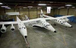 Virgin Galactic unveils commercial spaceship