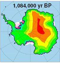 Computer model documents the history of the West Antarctic ice sheet