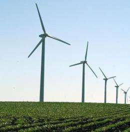 Iowa State researchers contribute climate model to study that finds some winds decreasing