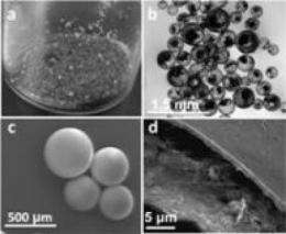 Next-generation microcapsules deliver 'chemicals on demand'
