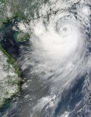 Tropical Storm Koppu poised for China landfall
