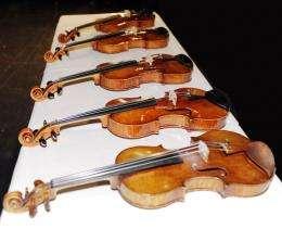 Empa violin outdoes Stradivarius