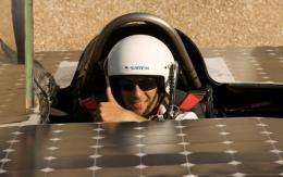 A 3,000 km solar car race across Australia's desert heartland has began