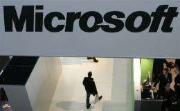 A Chinese court has found Microsoft guilty of infringing a Chinese company's intellectual property rights