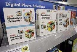 Adobe 1Q profit, sales drop, squeezed by downturn (AP)