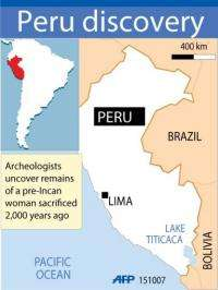 "A joint Japanese-Peruvian archeological mission has uncovered the  ""Lady of Pacopampa"""