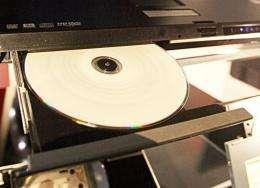 A laptop with an HD DVD reader