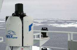 All in sight: Scientists test infrared system for the protection of whales