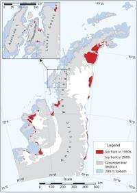Antarctica glacier retreat creates new carbon dioxide store