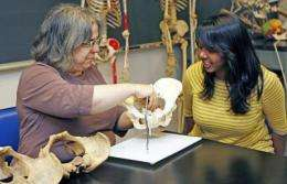 Anthropologist's studies of childbirth bring new focus on women in evolution