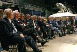 Apollo 11 astronauts look beyond moon, toward Mars (AP)