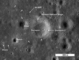 Apollo 12 and Surveyor 3