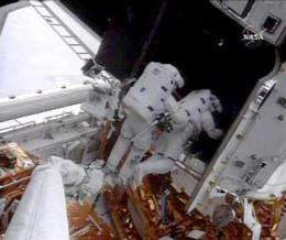 Astronauts have trouble with repair work at Hubble (AP)
