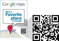 Google QR codes to appear in a store window near you