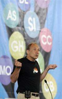 British computer scientist and internet founder Tim Berners-Leepictured in 2008