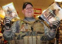 'Call of Duty' sells $310M in N Amer, UK in 24 hrs (AP)