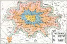 Cartographic treasures show little change in city life