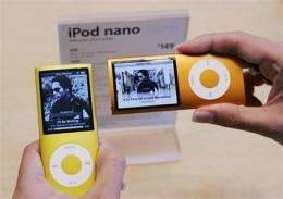 Changes to Apple's iTunes prices take effect (AP)
