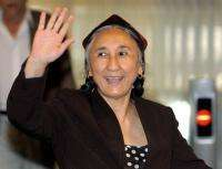 "China has branded Rebiya Kadeer, leader of the Muslim minority, as a ""criminal"""