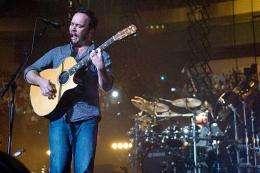 Dave Matthews of the Dave Matthews Band performs at Madison Square Garden