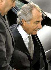 Disgraced Wall Street financier Bernard Madoff