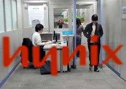 Employees at Hynix