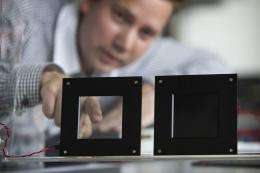 Philips electronic skin technology enables new chameleon-like ambience designs