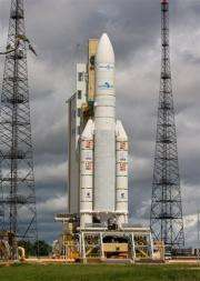 Europe?s Spaceport Ariane 5 ECA in Kourou, French Guyana