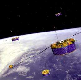 Femtoseconds lasers help formation flying in space