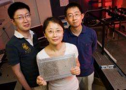 First acoustic metamaterial 'superlens' created by U. of I. researchers