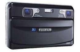 Fujifilm unveils 3D digital camera