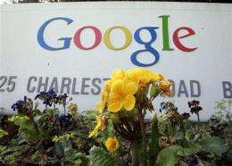 Google's search for savings boosts 1Q profit 9 pct (AP)