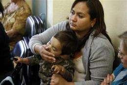 Hospitals, doctors deal with swine flu jitters (AP)