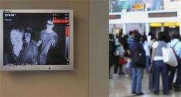 How thermal-imaging cameras can spot flu fevers (AP)