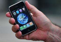 If Spotify does become available on the iPhone, users will be able to save up to 3,000 songs to their handsets