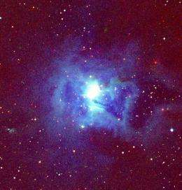 Infrared Image of Circumstellar Disk Illuminates Massive Star Formation Process