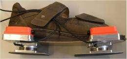 Intelligent shoe performs pressure imaging