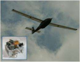 Ion Tiger fuel cell unmanned air vehicle completes 23-hour flight