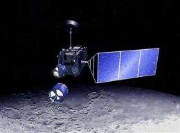 Japan's first lunar probe ends mission (AP)