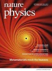 Louisiana Tech professor's 'metamaterials' research lands cover of international journal