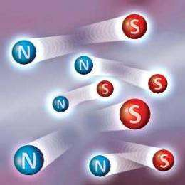 'Magnetricity' observed and measured for the first time