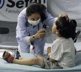 McTriage: Hospitals use drive-thrus for swine flu (AP)