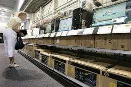 Microsoft feels more recession fallout, sales drop (AP)