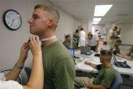 Military experiment seeks to predict PTSD (AP)