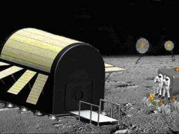 More 'Star Trek' than 'Snuggie': Student design to protect lunar outpost from dangerous radiation