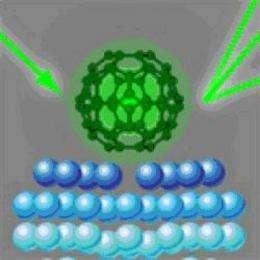 Nanophysics: Serving up Buckyballs on a silver platter