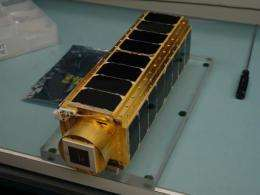 Nanosatellite to Study Antifungal Drug Effectiveness in Space
