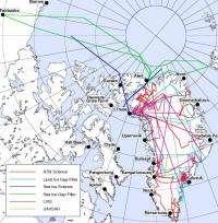 NASA flies to Greenland to extend polar science